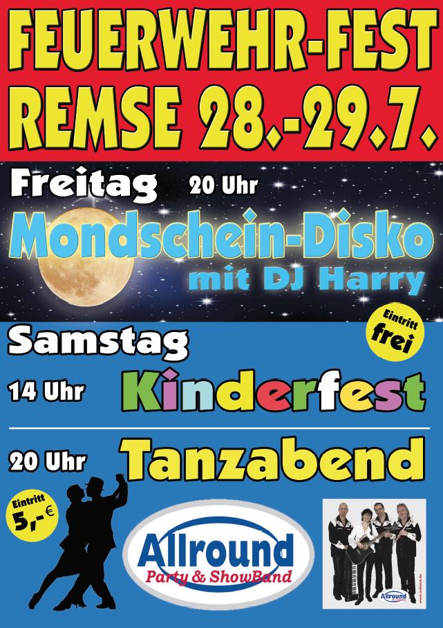 Plakat Feuerwehrfest 2017